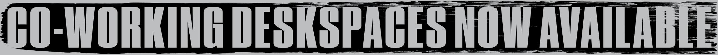 Deskspaces available
